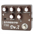 JOYO D53 Sparrow Driver & DI Box for Bass - Chocolate