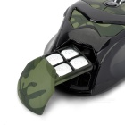 LingDu L535 2.4GHz Wireless Optical 5D Gaming Mouse - Camouflage Green + Black (2 x AAA)