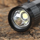 MXDL XT-7119 3W 80lm LED White Flashlight - Black (1 x AAA)