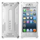 Transformers Design Protective Aluminum Alloy Back Cover Case for iPhone 5 - Silver