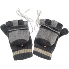 USB Heated Warm Gloves (Pair)