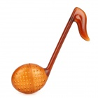 Cute Music Note Shaped Tea Spoon Strainer Filter - Brown