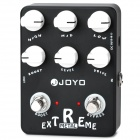 JOYO JF-17 True Bypass Design Extreme Metal Guitar Effects Pedals - Black (1 x 9V)