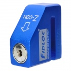 Bicycle Motorcycle / Bicycle Anti-Theft Disc Brake Lock - Blue + Black