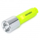Raysoon R-001 CREE XM-L T6 450lm 3-Mode White Diving Flashlight - Luminous Yellow (1 x 18650)