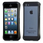 Protective Pulling-out Aluminum Alloy Bumper Rahmen für iPhone 5 - Black
