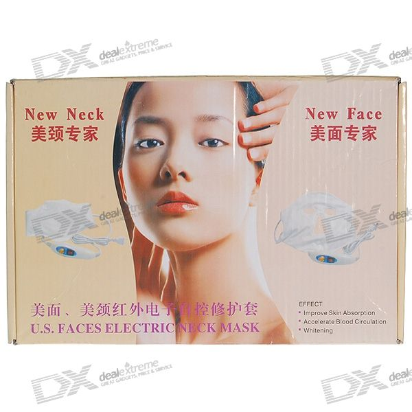 Electronic IR Heated Facial Mask with 10-Temperature Controller (220V AC)