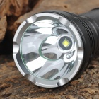 PALIGHT H900 900lm 5-Mode White Crown Head Flashlight - Black (1 x 18650 / 26650)