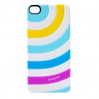 iEasypatch Soft Foam Embossment Back Sticker for Iphone 4 / 4S - Multicolor
