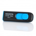 ADATA UV128 USB 3.0 Flash Drive - Black + Blue (8 GB)