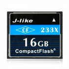 J-like CF233X-16G CompactFlash / CF Memory Card - Black + White (16GB)