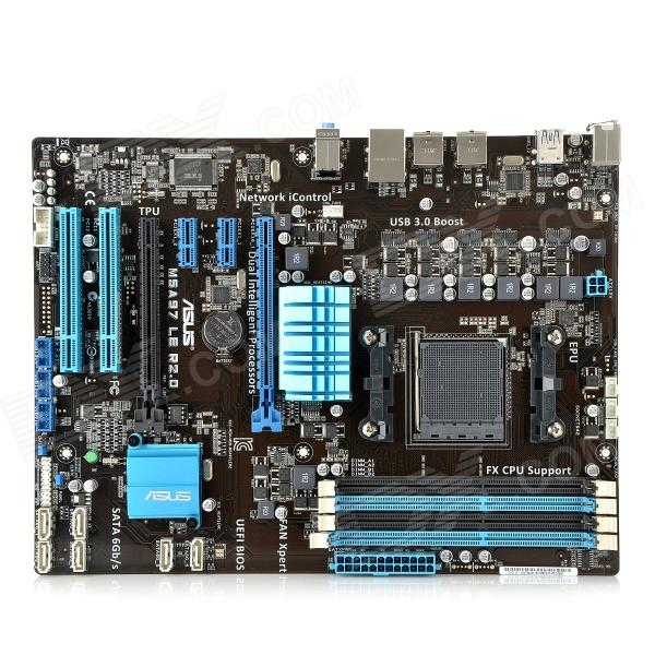 ASUS M5A97 LE R2.0 AM3+ AMD FX / Phenom II / Athlon II / Sempron 100 AMD 970 DDR3 ATX Motherboard new laptop motherboard x550cc x550ca onboard i5 cpu for asus non integrated fully tested good price free shipping
