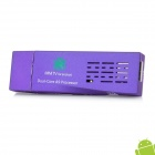 J21 Dual-Core Android 4.1 Google TV Player w/ Wi-Fi / 1GB RAM / 4GB ROM - Purple