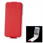 "iFans External ""1800mAh"" Battery PU + ABS Back Case for iPhone 4 / 4S - Red + White"