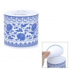 ZhiJiang YZZZ Blue and White Porcelain Pattern Cylinder-Shaped Note Pad Memo (680-Pages)