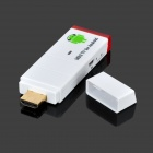 Jesurun J18 Android 4.0 Google TV Player w/ Wi-Fi / 1GB RAM / 4GB ROM / HDMI / AV - White