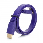 HDMI V1.4 Male to Male Flat Connection Cable - Purple (50cm)