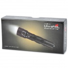 UltraFire UF-T30 600lm 2-Mode Blanco Dimming Linterna - Negro (1 x 18650)
