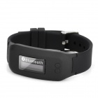 BTW01 0,8'' OLCD Screen Bluetooth V2.0 Armbanduhr mit Mikrofon - Schwarz
