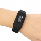 BTW01 0.8'' OLCD Screen Bluetooth V2.0 Bracelet Watch with Microphone - Black
