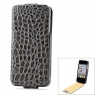 "iFans External ""1800mAh"" Battery PU + ABS Back Case for iPhone 4 / 4S - Grey + Black"