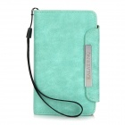 KALAIDENG Protective PU Leather Case for Nokia Lumia 820 - Green