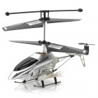 IA-8833 Rechargeable 3.5-CH IR Remote Controlled R/C Helicopter w/ Gyro / LED - Silver