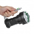 SKYRAY XY-600  6000lm 5-Mode White Flashlight - Deep Grey (4 x 18650)