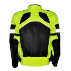 Outdoor Motorcycling Oxford Cloth Reflective Stripe Summer Long Sleeve Jacket (Size XL)