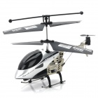 IA-8851 Rechargeable 3.5-CH IR Remote Controlled R/C Helicopter w/ Gyro - Silver