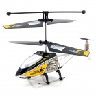 IA-8835 Rechargeable 3.5-CH IR Remote Controlled R/C Helicopter w/ Gyro / LED - Silver + Black