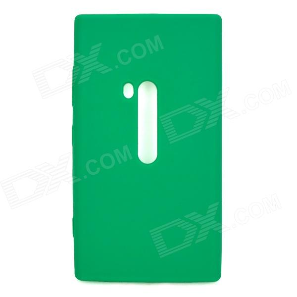 Protective Soft Silicone Back Case for Nokia Lumia 920 - Green