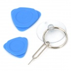 1806 kit ferramenta de reparo para o iPhone 4 / 4S / 5 / IPAD / MACBOOK - azul
