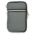 "Protective Padded Zippered Inner Bag for All 7"" Tablet PCs - Grey"