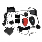 INP9086 Interphone Set for Motorcycle - Black (2000 M -Transmission)
