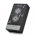 DENKO MP-04 Wireless Mutual-Induction Speaker for Iphone / Samsung Cellphone / PC - Black + White