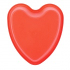 SP98034 Heart Shape Silicone Cake Pan Mold - Red