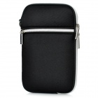 "Protective Padded Zippered Inner Bag for All 7"" Tablet PCs - Black"