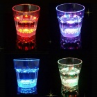 LED Luminous Water Induction Flash Cup - Transparent (250ml)
