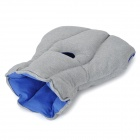 Magical Portable Ostrich Traveling Siesta Pillow - Light Grey