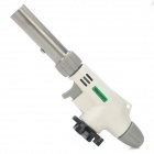 Windproof 1300'C Adjustable Flame Butane Jet Torch Lighter - White