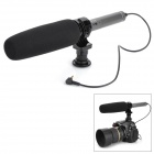 SG-209 Double Audio Frequency Stereo Microphone for DV / DSLR Camera - Black + Grey (3.5mm Plug)
