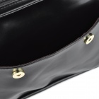 Retro Lady's PU Hand / One Shoulder Bag w/ Strap - Black