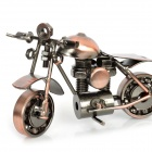 Retro Iron Harley Motorcycle Racing Model - Bronze
