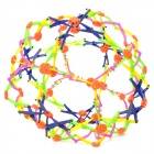 Classic Retro Magic Changeable Plastic Flower Ball - Multicolored