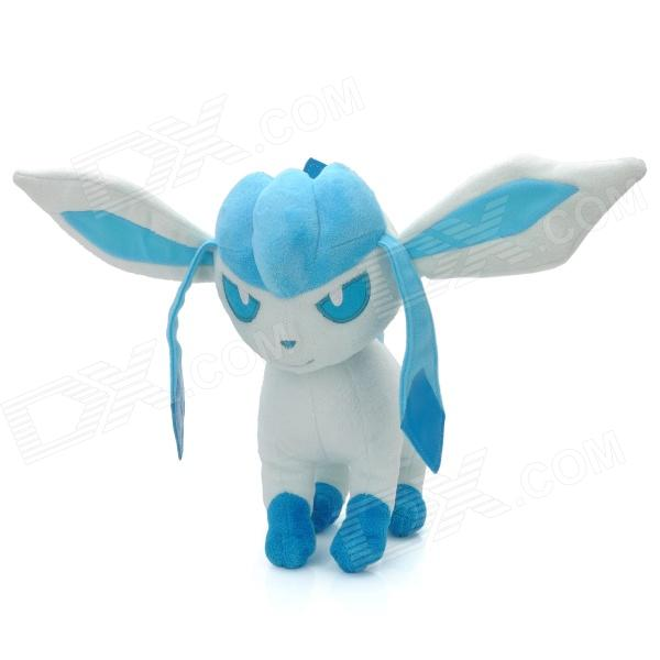 Cute Cartoon Style Plush + PP Cotton Toy - Sky Blue