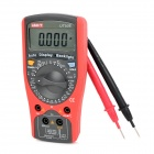 "UNI-T UT50E 2.6"" LCD Modern Digital Multimeters - Red + Dark Grey (1 x 9V)"