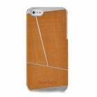Newtons Protective Plastic Back Case Cover for Iphone 5 - Gold Brown