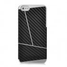 Newtons Protective Plastic Back Case Cover for Iphone 5 - Black