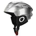 PROPRO SHM-001 Windproof Warmer Ski / Snow Helmet w/ Snow Mirror Strap - Black